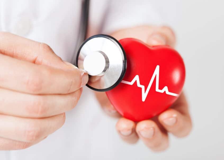 coeur en bonne santé